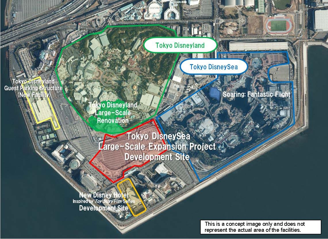 Tokyo DisneySea Large-Scale Expansion Project Development Site