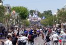 Disneyland Main Street USA this afternoon