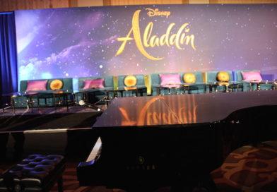 """Press Conference: """"Aladdin"""""""