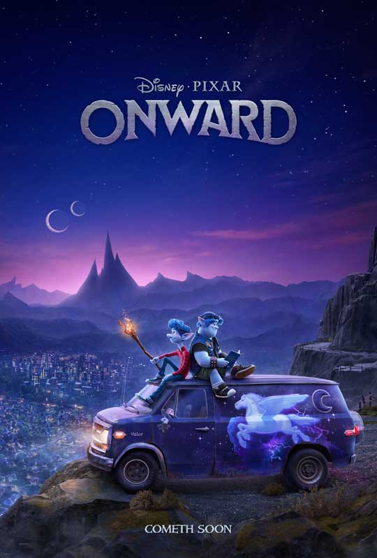 Pixar Onward Trailer Poster