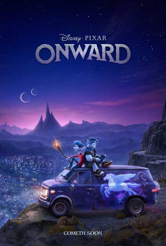 Pixar Onward Trailer Poster