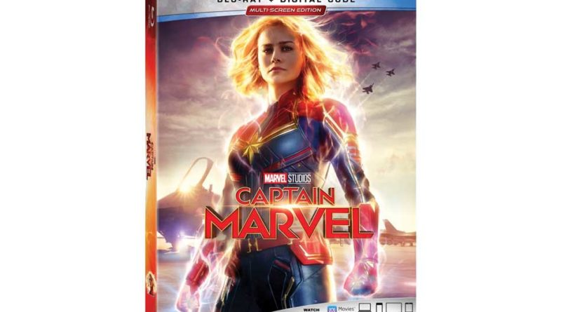 Captain Marvel - Blu Ray
