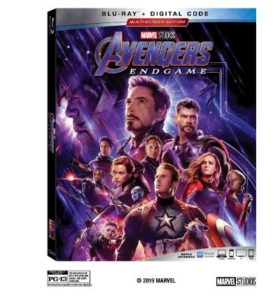Avengers: End Game Blu-ray Package