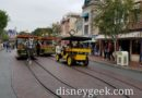 A lot of traffic on Main Street USA today