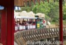 Onboard the Disneyland Railroad