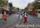 Mickey & Minnie Leading a March to Town Square