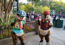 Chip & Dale on Buena Vista Street
