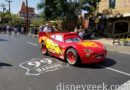 Lightning McQueen on Route 66 in Cars Land