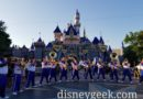 2019 Disneyland All-American College Band performing at Sleeping Beauty Castle