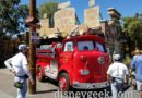 Red in front of Radiator Springs Curios in Cars Land