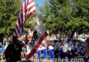 Nightly Flag Retreat Ceremony in Town Square with the All-American College Band