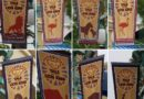Tale of the Lion King Banners line Paradise Park
