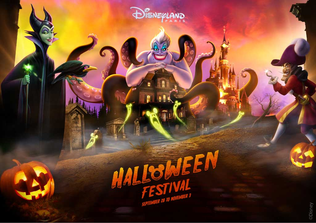 Disneyland Paris 2019 Halloween