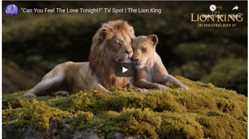 Lion King Extended TV Spot