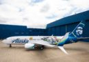 Alaska Airlines Aircraft Featuring Toy Story 4 Artwork