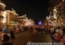 Main Street USA 10 min before Disneyland Forever Fireworks