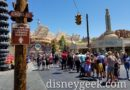 Radiator Springs Racers standby is 105 min and FP return backedup to Cross Street