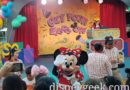 Minnie Mouse at the Get Your Ears on Dance Party