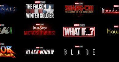 Marvel Movies 2019-2021