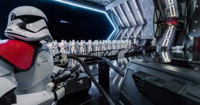 RISE OF THE RESISTANCE -- Disney guests will traverse the corridors of a Star Destroyer and join an epic battle between the First Order and the Resistance - including a face-off with Kylo Ren - when Star Wars: Rise of the Resistance opens Dec. 5, 2019 at Walt Disney World Resort in Florida and Jan. 17, 2020 at Disneyland Resort in California. At 14 acres each, Star Wars: Galaxy's Edge at Disneyland Park and Disney's Hollywood Studios is Disney's largest single-themed land expansion ever. (Joshua Sudock/Disney Parks)