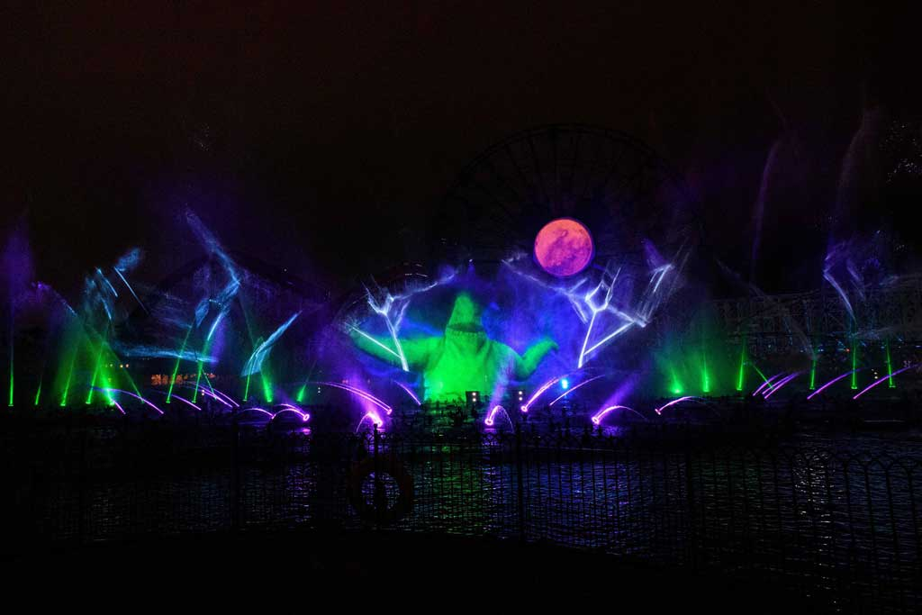 """Villainous!"" is a new ""World of Color"" show (Richard Harbaugh /Disneyland Resort)"