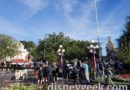 Preparing for this evening Parks Blog webcast of the Main Street Electrical Parade