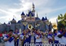 2019 Disneyland Resort All-American College Band performing at Sleeping Beauty Castle