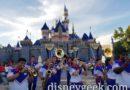 2019 Disneyland Resort All-American College Band performing at Sleeping Beauty Castle