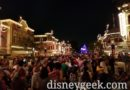 Waiting for Disneyland Forever on Main Street USA