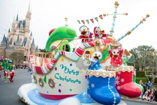 """Disney Christmas Stories""at Tokyo Disneyland"