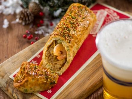 """Taste of Christmas"" menu item"