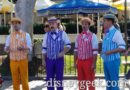 Dapper Dans of Disneyland Performing Along Main Street USA