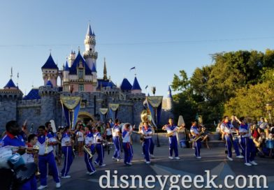 Pictures & Video: 2019 Disneyland Resort All-American College Band – Final Day