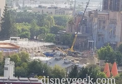 Avengers Campus (Marvel Project) at Disney California Adventure Construction Pictures (8/22/19)
