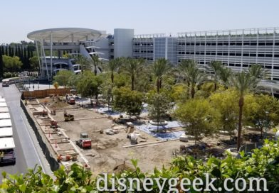 Disneyland Pixar Pals Parking Structure Construction Pictures (8/22/19)