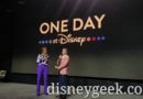 D23 Expo Announcement  – One Day At Disney  – Documentary on Disney+& Book Coming in December