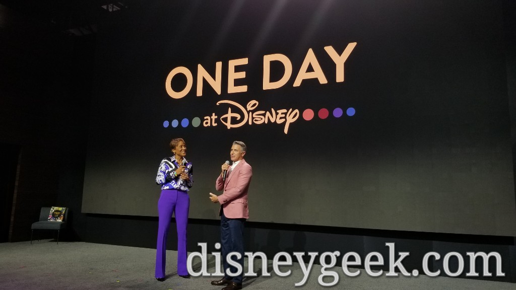 Robin Roberts, who will be named a Disney Legend Tomorrow, at the One Day at Disney Announcement