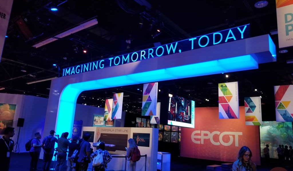 D23 Expo: 1st Look @ Disney Parks – Imagining Tomorrow, Today Pavilion