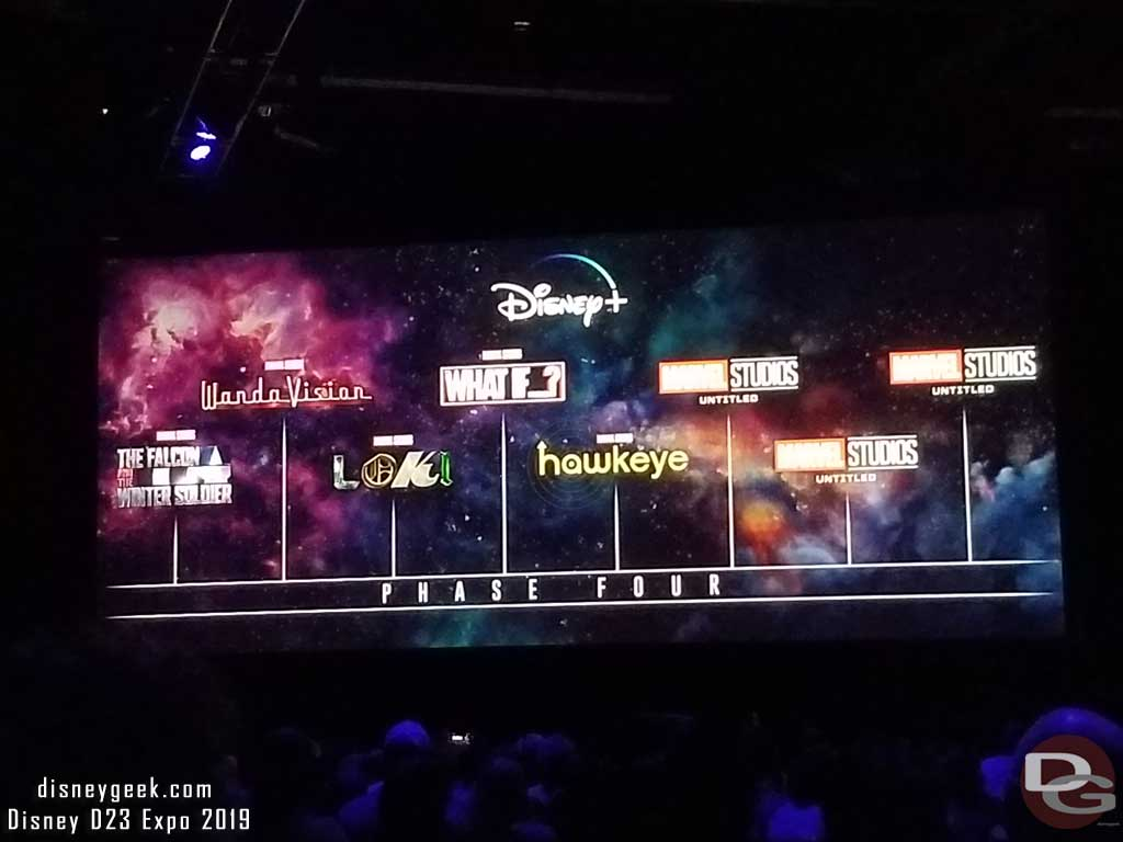D23expo Pictures Disney Plus Showcase In Hall D23 The
