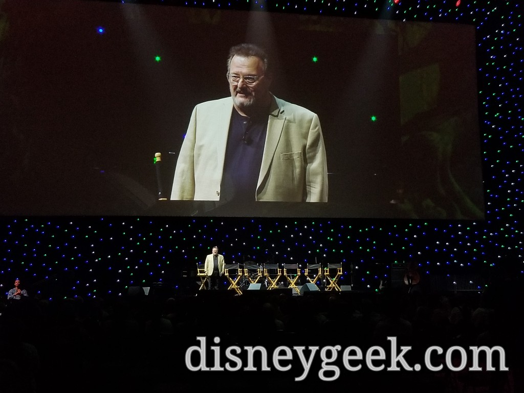 Wayne Knight, the voice of Tantor, was the moderator for the panel.