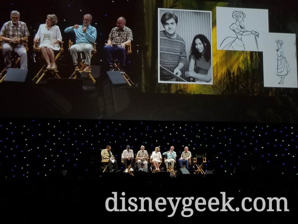 Animators Bruce W. Smith and Ken Duncan join the panel