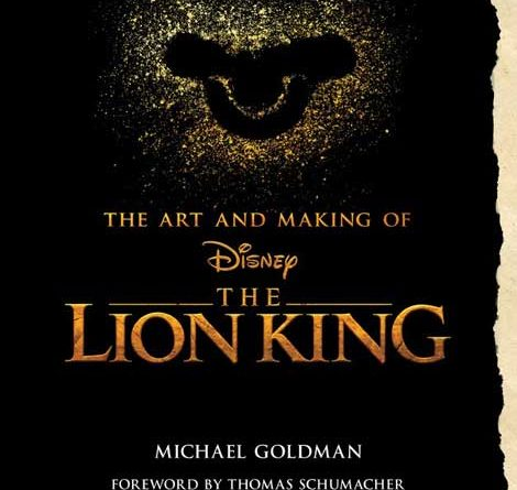 The Art and Making of Disney The Lion King Cover
