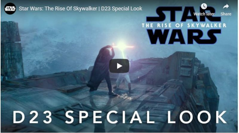 Star Wars: The Rise of Skywalker D23 Special Look