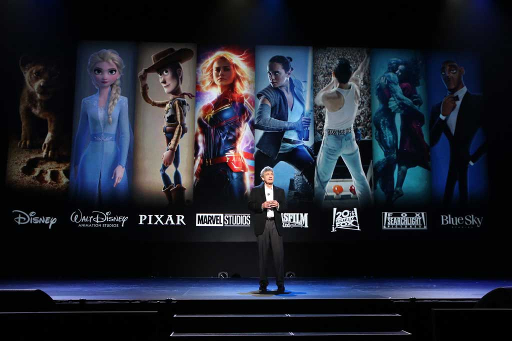 ANAHEIM, CALIFORNIA - AUGUST 24: Co-Chairman and Chief Creative Officer of The Walt Disney Studios Alan Horn took part today in the Walt Disney Studios presentation at Disney's D23 EXPO 2019 in Anaheim, Calif. (Photo by Jesse Grant/Getty Images for Disney)