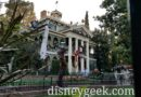Haunted Mansion Holiday opened today at Disneyland