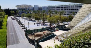 Disneyland Pixar Pals Parking Structure Construction Pictures (9/13/19)