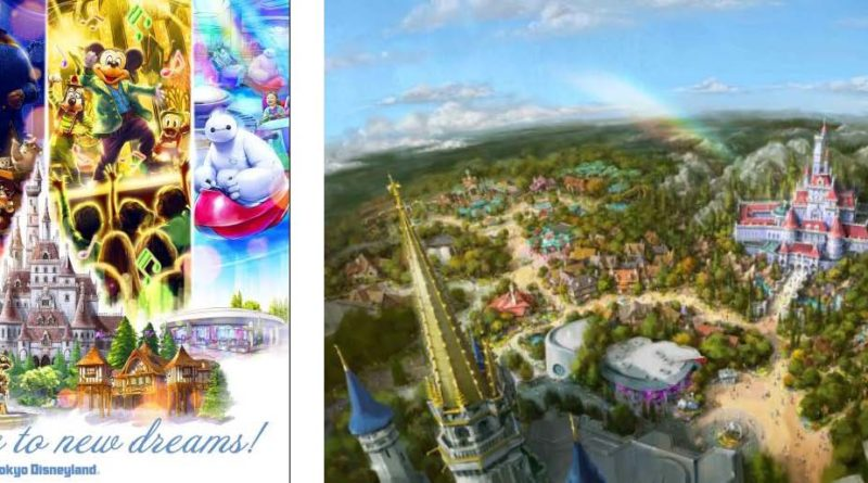 Concept images of the facilities opening on April 15, 2020 © Disney