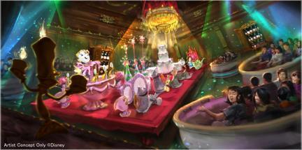 Tokyo Disneyland Beauty and the Beast