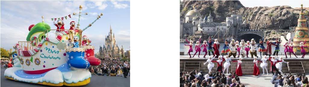 "Tokyo Disneyland & DisneySea ""Disney Christmas"""