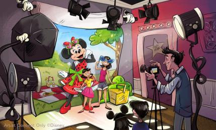 Tokyo Disneyland Minnie's Style Studio